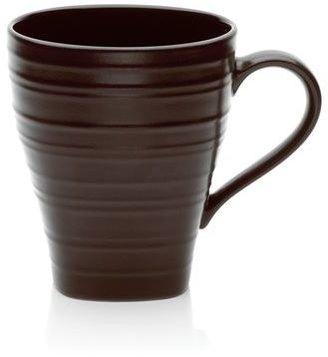 Mikasa Swirl Chocolate Square Mug, 14 oz.