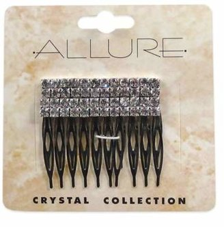 Allure Crystal Collection 2-Pack Rhinestone Side Comb $4.99 thestylecure.com