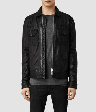 AllSaints Morson Leather Jacket