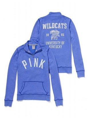 Victoria's Secret PINK University of Kentucky Half-Zip Pullover