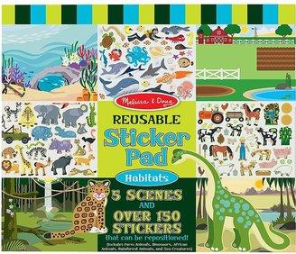Melissa & Doug Habitats Reusable Sticker Book