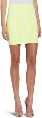 BCBGMAXAZRIA Women's Simone Lkat Splash Mini Skirt