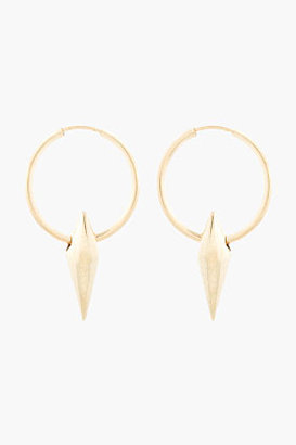 Wendy Nichol Gold Double Terminating Cone Hoops