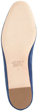 J.Crew Darby suede loafers