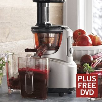 Breville Fountain Crush Slow Juicer with DVD