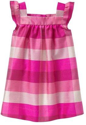 Gap Plaid flutter dress