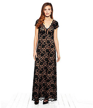 Karen Kane Juliet Lace Maxi Dress