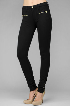 7 For All Mankind The Skinny Savanah In Knit Black