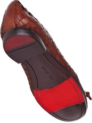 Robert Zur Mimi Ballet Flat Luggage Leather