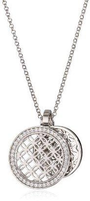 """Esprit Grace Silver"""" White Cubic Zirconia Pendant Necklace"""