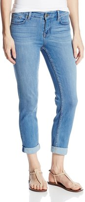 Level 99 Women's Midrise Lily Roll-Up Jean