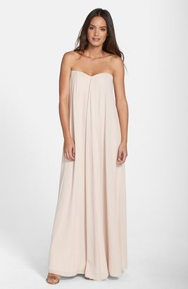 Paper Crown by Lauren Conrad 'Natalie' Crepe Gown $296 thestylecure.com
