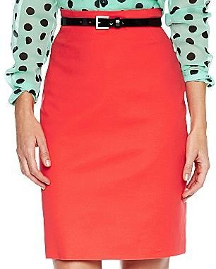 JCPenney Worthington® Belted High-Waist Pencil Skirt