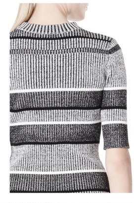 Alexander Wang Rib Knit Short Sleeve Dress