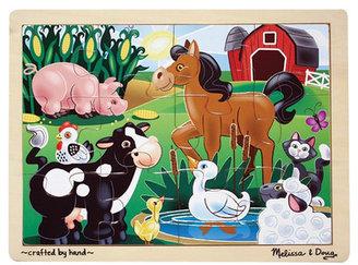Melissa & Doug On The Farm Wooden Jigsaw Puzzle