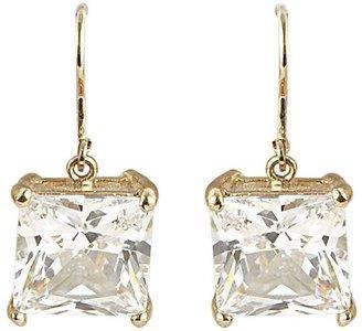 Betsey Johnson CZ Dangle Earrings