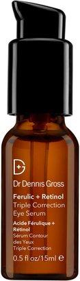 Dr. Dennis Gross Skincare Skincare Ferulic + Retinol Serum Triple Correction Eye Serum