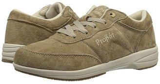 Propet Washable Walker Medicare/HCPCS Code = A5500 Diabetic Shoe (SR Taupe) Women's Walking Shoes