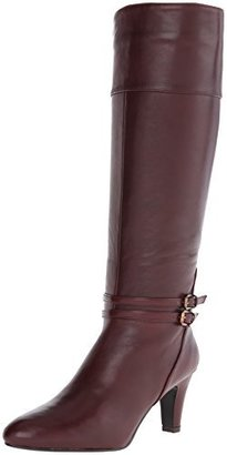 Bandolino Women's Wiser Leather Riding Boot $159 thestylecure.com