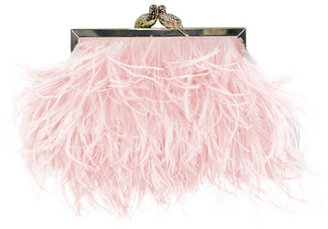 Kate Spade accessories Elliana Feather Clutch