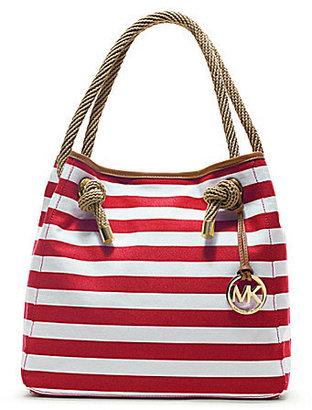 MICHAEL Michael Kors Striped Marina Grab Bag