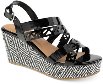Chinese Laundry CL by Laundry Double Act Platform Wedge Sandals