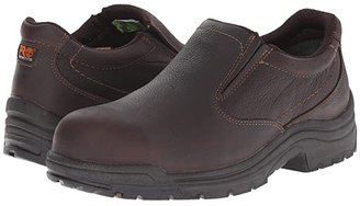 Timberland TiTAN(r) Slip-On Alloy Safety Toe (Camel Brown Oiled Full-Grain Leather) Men's Industrial Shoes
