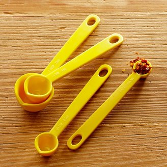Williams-Sonoma Melamine Measuring Cups & Spoons, Yellow