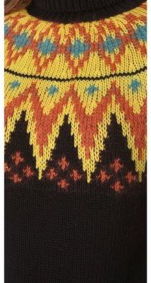 Jean Paul Gaultier Long Sleeve Printed Sweater