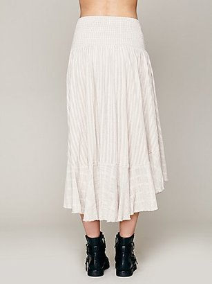 Free People Romance Beach Skirt