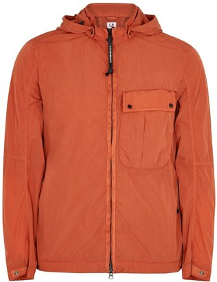 C.P. Company Goggle Orange Shell Jacket
