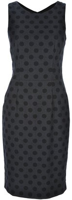 Emporio Armani Polka dot shift dress