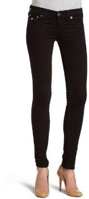 True Religion Women's Misty Legging Jean in Supervixen Black