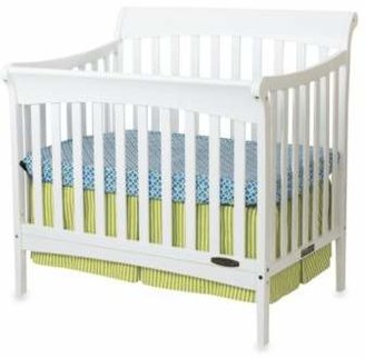 Child Craft Child CraftTM Coventry Mini 4-in-1 Convertible Sleigh Crib in White