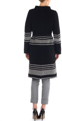Band Of Outsiders Funnel Neck Coat