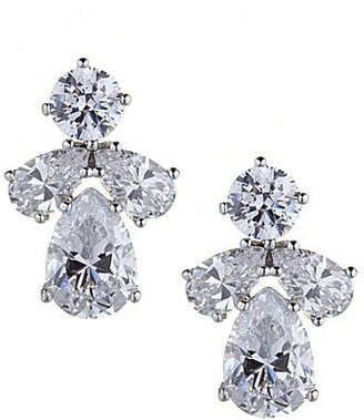 Nadri Boxed Cluster Stud Earrings