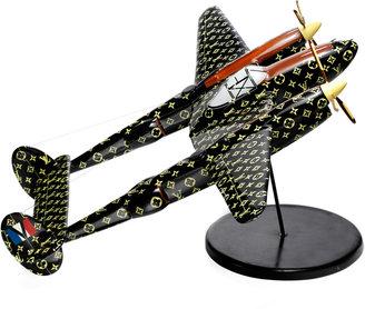Louis Vuitton Simon Teakle Wooden Aeroplane