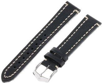 Hirsch 109002-50-18 18 -mm Genuine Calfskin Watch Strap