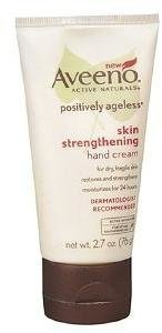 Aveeno Active Naturals Positively Ageless Skin Strengthening Hand Cream