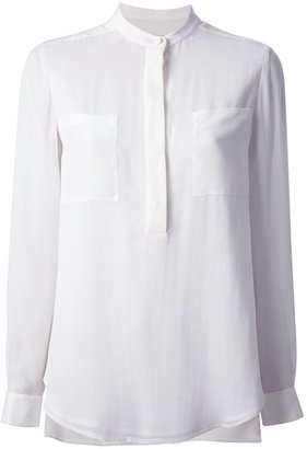 3.1 Phillip Lim band collar blouse