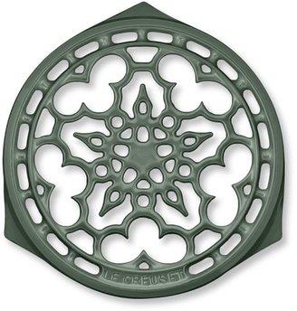 "Le Creuset Heritage Cast-Iron Deluxe Round Trivet, 9"""