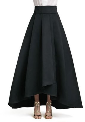 St. John Collection Duchesse Origami Ruffle Gown Skirt $1,195 thestylecure.com