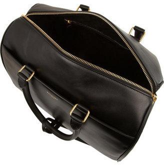 Saint Laurent Classic Duffle 6 Leather Bag - Black