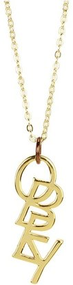Obey Noble Necklace (18k Gold) - Jewelry