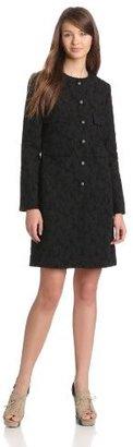 Derek Lam 10 Crosby Women's Floral Jacquard Coat