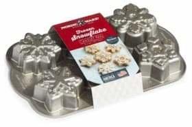 Nordicware Frozen Snowflake Cakelet Pan