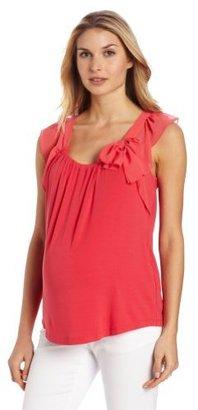 Ripe Maternity Women's Maternity Sleeveless Juliet Shirt