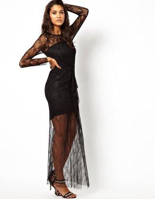 Pearl Lace Maxi Dress