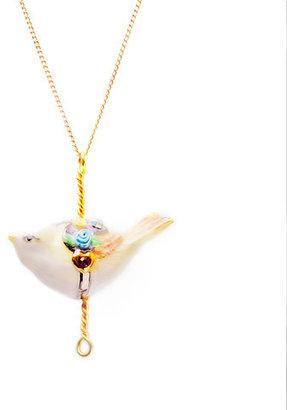 Hop Skip & Flutter Bird Pendant Large