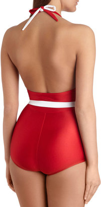 Esther Williams Splice of Life One Piece in Red